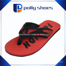 New Men′s Polly Shoes Red Flip-Flop Thong Sandals